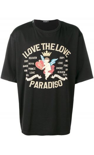 T-Shirt mm giro I love the love