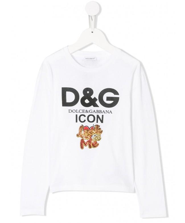 T-Shirt mm giro D&G Icon