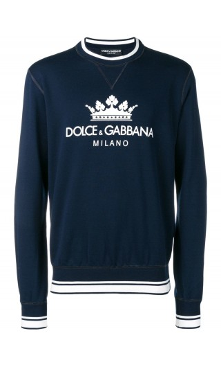 Felpa ml giro Dolce & Gabbana Milano