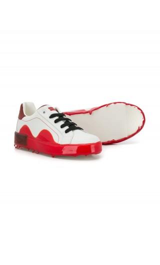 Sneakers vitello nappa + immersione