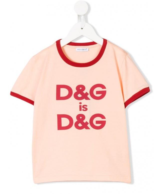 T-Shirt mm giro st.D&G is D&G