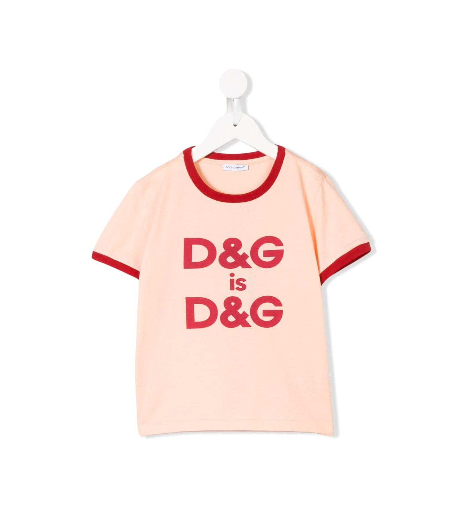 f6676409 T-SHIRT MM GIRO ST.D&G IS D&G - PARISI TAORMINA