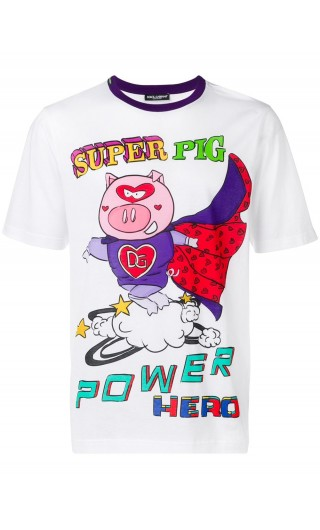 T-Shirt mm giro st. Super Pig