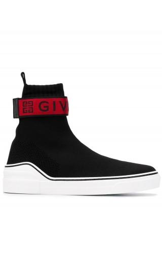 Sneaker medie di maglia Givenchy 4G