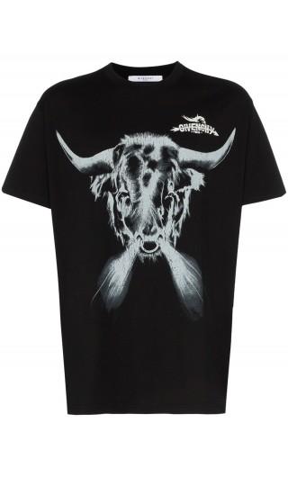 T-shirt mm giro oversize stampa Toro