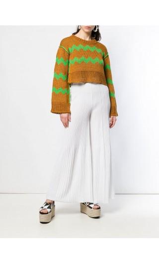 Pantalone fondo gamba ampio