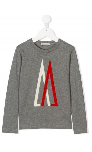 T-Shirt ml giro maxi logo