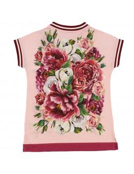 T-Shirt mm giro st.Peonie