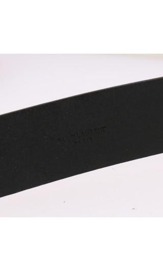Cintura regolabile c/fibbia c/motivo guilloche