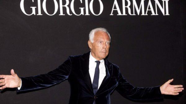 Giorgio Armani reflects on the possible scenarios of fashion after the coronavirus