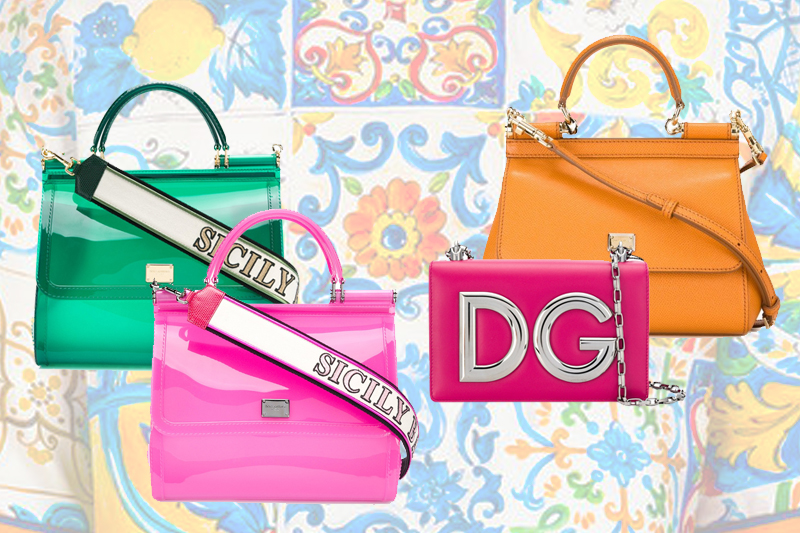 1aa452adbe4 Handmade, shoulder bag, leather models and clutch bag collection Dolce and  Gabbana fall-winter 18/19